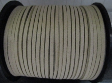 Flat Suede Cord 2.5mm Khaki 90m