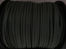 Flat Suede Cord 2.5mm Dk Green 90m