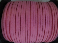 Flat Suede Cord 2.5mm Pink 90m