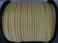 Flat Suede Cord 2.5mm Mustard 90m