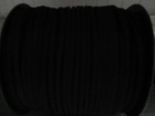 Flat Suede Cord 2.5mm Black 90m