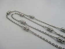 Stainless Steel 1m Chain 1mm (4mm Ball)