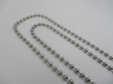 Stainless Steel 1m Chain 2mm Ball Chain