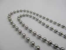 Stainless Steel 1m Chain 3mm Ball Chain