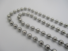 Stainless Steel 1m Chain 4mm Ball Chain