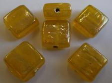 IGLASS 13MM RECT YELLOWAB 100G