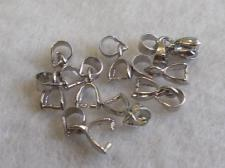BAIL LARGE 20 PCS IMM. RHODIUM
