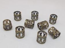 FILIGREE 8X8MM TUBE/KGP 100PCS