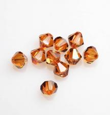 SW 6MM BIC/CRYSTAL COPPER 10PCS