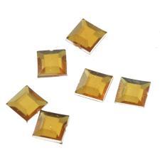 RHINE 6X6MM SQR GOLD 1000PCS