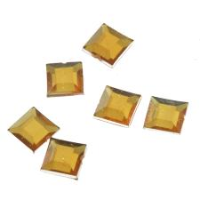 RHINE 6X6MM SQR GOLD 1000PCS