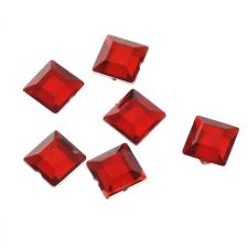 RHINE 8X8MM SQR RED 400PCS