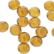 HOTFIX 6MM RND GOLD 320PCS